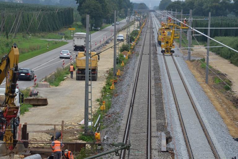 Bahnstrecke Ingolstadtpetershausen übers Wochenende