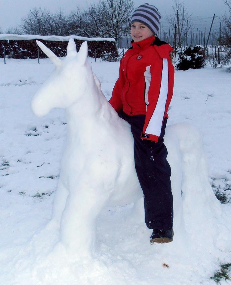 Fantastisch Ein Schnee Einhorn Pfaffenhofen Today