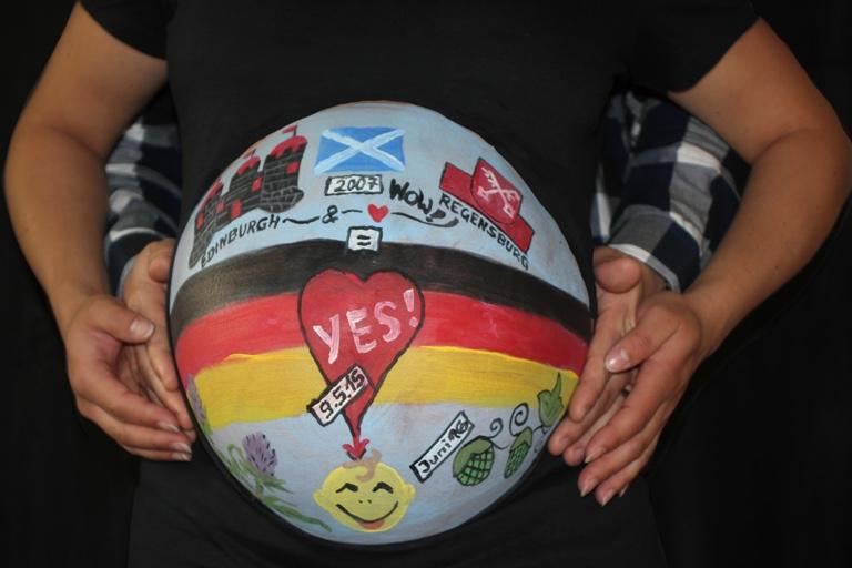Die Babybauch Bemalerin Pfaffenhofen Today