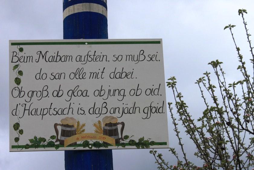 maibaum sprüche liebe Holzhausen und Hög haben den Schönsten   Pfaffenhofen Today maibaum sprüche liebe