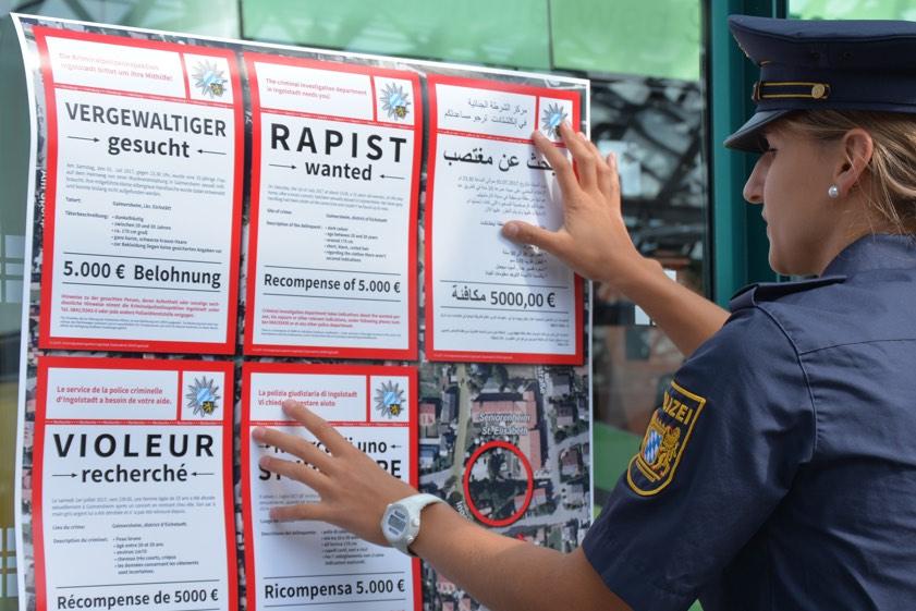 Vergewaltigung Gaimersheim