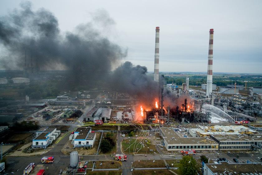 Bayernoil Explosion