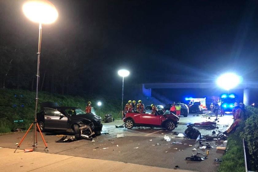 Unfall A9 Gestern Abend