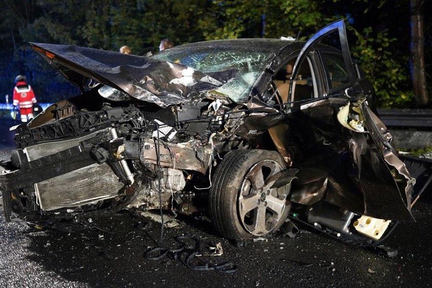 Unfall B16 Gestern