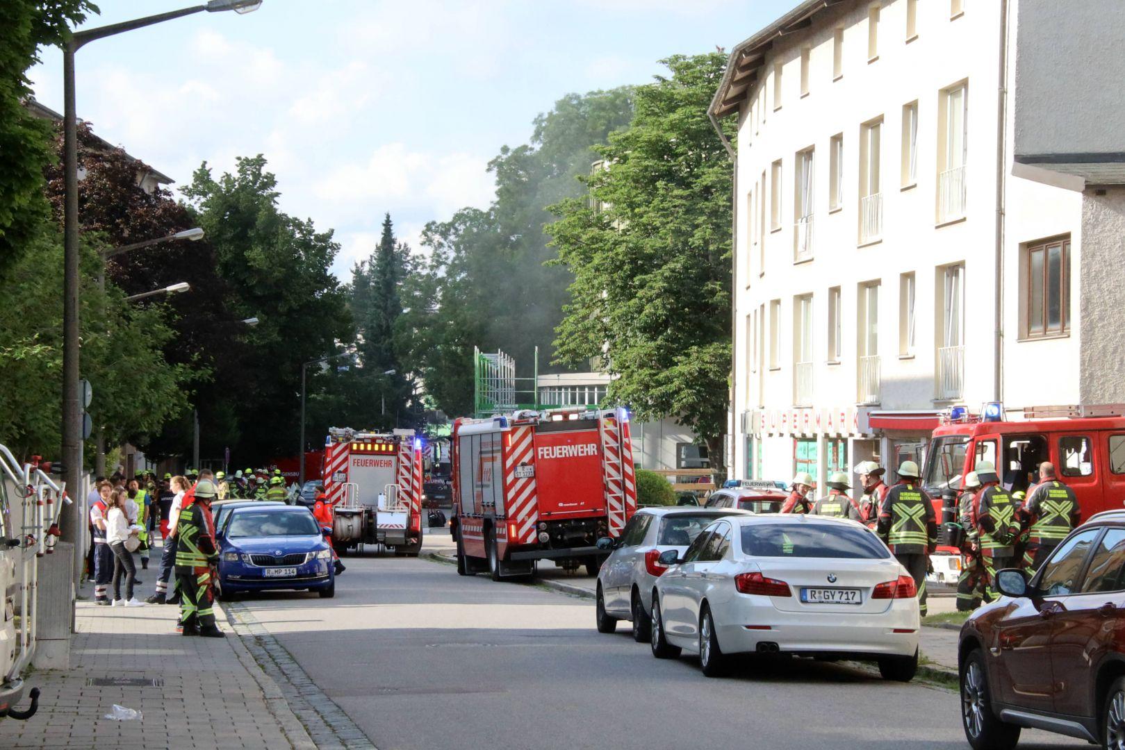 Brand In Regensburg Heute